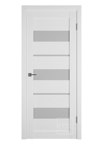 Межкомнатная дверь остекленная Atum X23