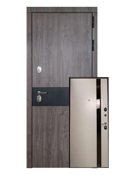 Входная дверь Авант с накладкой МДФ (левая)