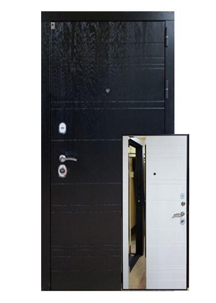 Входная дверь Дипломат с зеркалом (левая)