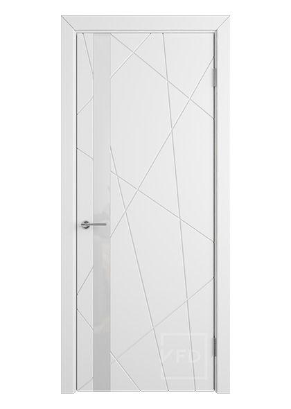 Межкомнатная дверь со стеклом Флитта 26