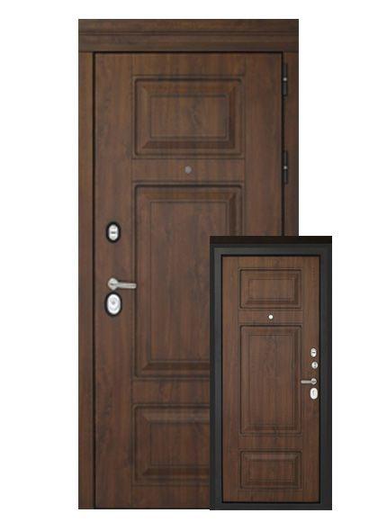 Входная дверь Форт с накладкой МДФ