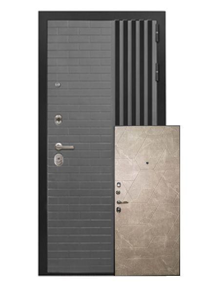 Входная дверь Парини с накладкой МДФ (левая)