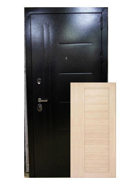 Входная дверь Прага с МДФ-покрытием