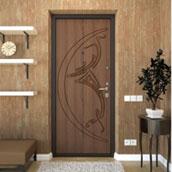 Двери с МДФ накладкой в Симферополе