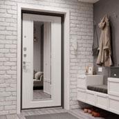Двери с зеркалом входные в Симферополе